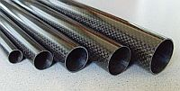 Carbon fiber tubes and profiles